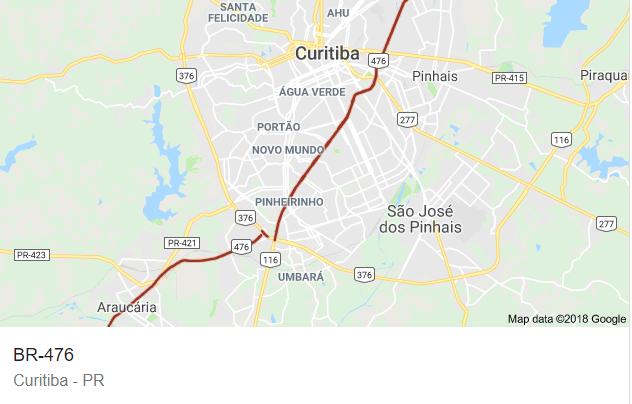 BR 476 Curitiba