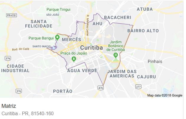 Matriz Curitiba